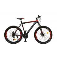 Велосипед HOGGER 'PHOENIX' MD 15'' 21ск, сталь красно-серо-черный