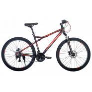 Велосипед HARTMAN Black stone Pro Disk 17 21ск. алюм, сливовый красный мат.