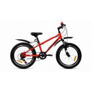 Велосипед FORWARD UNIT 2.0 6ск, 10,5'' красный