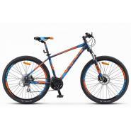 Велосипед Stels Navigator-750 D 21 синий/оранжевый арт.V010