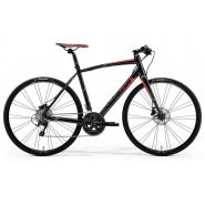 Велосипед Merida Speeder 90 L(56cm) '19 Black/Red/Green (700C)