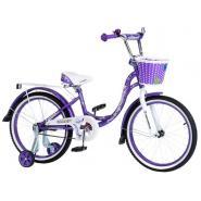 Велосипед Nameless LADY фиолетовый/белый