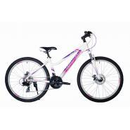 Велосипед HARTMAN Sintra disk 15'' 21ск. алюм, белый/сирен(2021)
