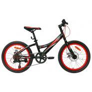 Велосипед Nameless S2300D, черный/оранжевый