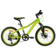 Велосипед Nameless S2300D, желтый/синий