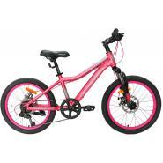 Велосипед Nameless J2200DW 12', розовый/голубой