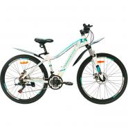 Велосипед Nameless J6200DW 15, белый/зеленый