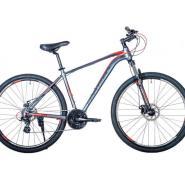 Велосипед HARTMAN Neo Pro 19 21ск. алюм, темно-серый красный мат