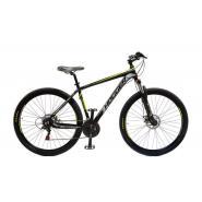 Велосипед HOGGER 'OLIMPICO' МD 17'' 21ск, алюм черно-желтый