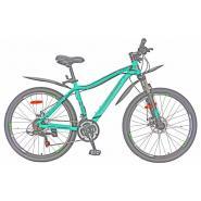 Велосипед Nameless J6200DW, зеленый/черный