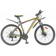 Велосипед Nameless S7200D 19'', серый/оранжевый