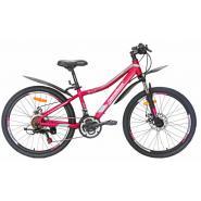 Велосипед Nameless J4000DW, розовый/синий