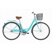 Велосипед Foxx Vintage 18'' зеленый+корзина