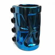 Зажим 4 болта GS SCS (HARPY) blue