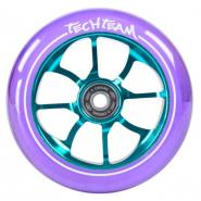 Колесо д/самоката X-Treme 110мм PO transparent purple