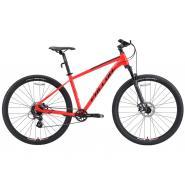 Велосипед FORWARD APACHE 3.2 disc 21ск. 17'' черный мат/серебр(2021)