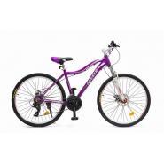 Велосипед HOGGER 'RUNA' МD 19'' 21ск, алюм пурпурный