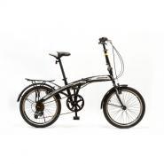 Велосипед HOGGER 'FLEX' V 7ск, сталь черный