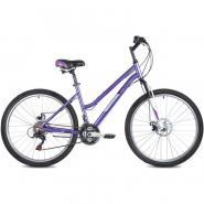 Велосипед FOXX BIANKA D, 15'' алюм, фиолетовый(2021)