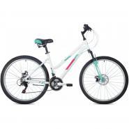 Велосипед FOXX BIANKA D, 17'' алюм, белый(2021)