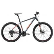 Велосипед Welt Rockfall 2.0 29 2021 Matt grey/red L