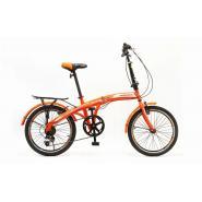 Велосипед HOGGER 'FLEX' V 7ск, сталь оранж/красный