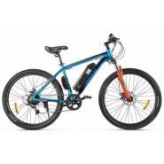 Велогибрид Eltreco ХТ600 D сине-оранжевый-2387