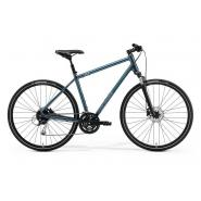 Велосипед Merida Crossway 100 55cmL '19 Silk Titan/Green (700C)