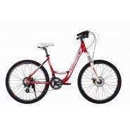 Велосипед HARTMAN Runa Disk 19'' 21ск. алюм, рубин-хром
