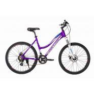Велосипед HARTMAN Diora Disk 17'' 21ск. алюм, св.фиолет. серо-голубой