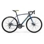 Велосипед Merida CycloCross 300 54cmML '19 Petrol/Yellow/Lite Teal (700C)