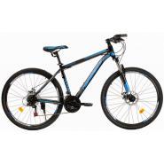 Велосипед Nameless J7300D 18' 21ск, черный мат/синий