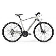 Велосипед Merida Crossway 20-D 52cm ML '20 Silk Titan/Black/Grey (700C)