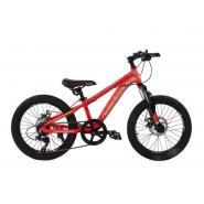 Велосипед Nameless J2100D 10,5' 7ск, красный/серый