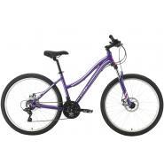 Велосипед Stark Luna 26.2 D фиолетовый/серебристый 16'' (2021)