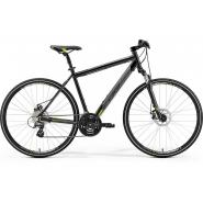 Велосипед Merida Crossway 15-MD 48cm SM '19 MetallicBlack/Green (700C)