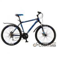 Велосипед Stels Navigator-650 MD 16 черный/синий арт.V030