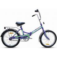 Велосипед Stels Pilot-410 13,5 арт.Z011 фиалковый/зеленый