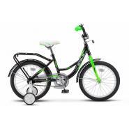 Велосипед STELS Flyte 12 черный/салатовый арт.Z011