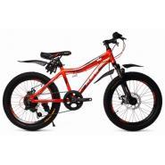 Велосипед Platin A201 оранжевый/черный