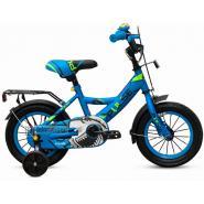 Велосипед PULSE 1605-1 синий/зеленый