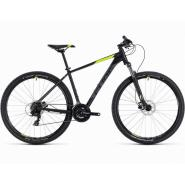 Велосипед CUBE 19 AIM PRO 29 black'n'flashyellow 19''