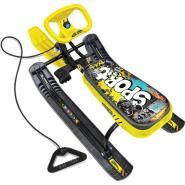 Снегокат Тимка спорт 2 Граффити желтый (420мм) ТС2