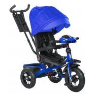 Велосипед 3-х кол BA IC5099, поворотный, фара, синий
