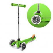 Самокат Mini Micro Зеленый LED