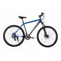 Велосипед HARTMAN Ingword Pro Disk 19'' 21ск. алюм, черно-син- белый мат.