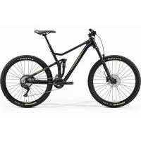 Велосипед Merida One-Twenty 7.500 M '19 MetallicBlack/Green (27,5'')