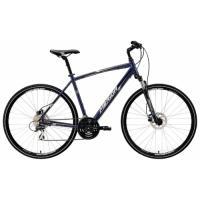 Велосипед Merida Crossway 20-D 46cm 17'  Dark Blue (silver/white)