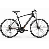 Велосипед Merida Crossway 20-D 52cm ML '19 MattBlack/Orange (700C)