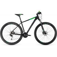 Велосипед CUBE 18 AIM SL 29 black'n'flashgreen 17''